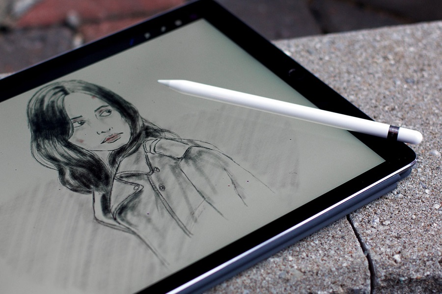 Pencil drawing on the ipad pro with apple pencil tips tricks pencils sketches