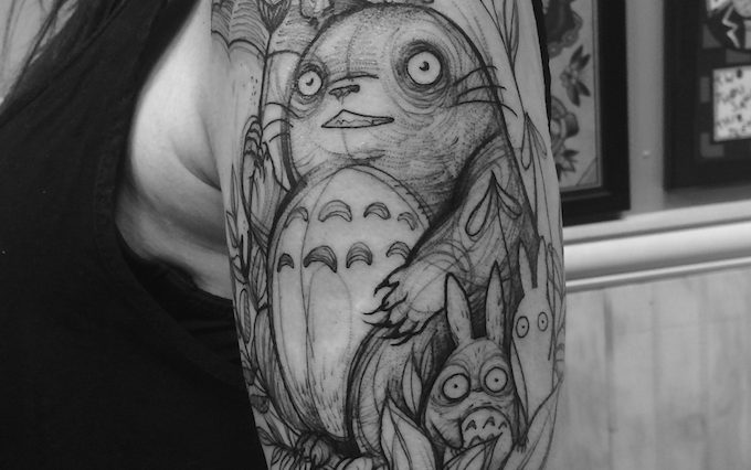 Tattoos That Look Like Lively Pencil Sketches