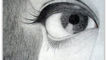 Simple Eye Sketch. You Have to Try