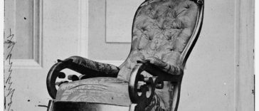 Rocking chair used by President Lincoln