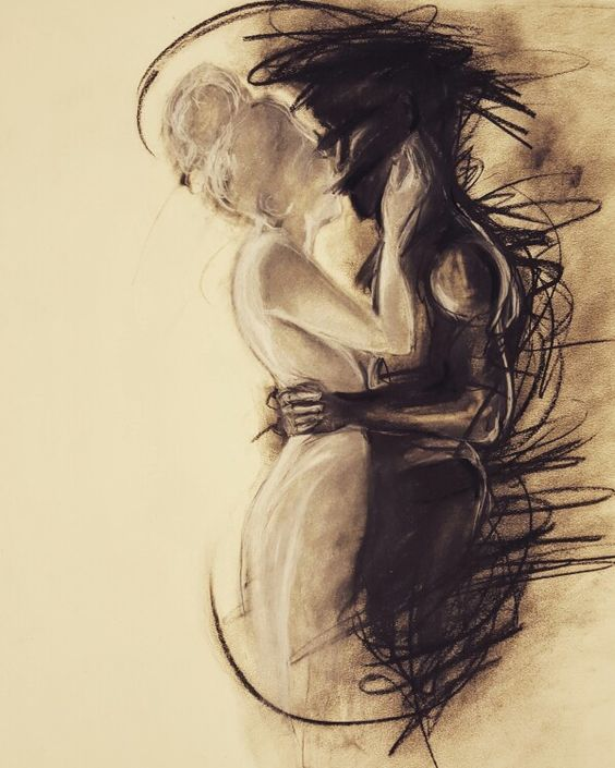 charcoal-drawing-trying-to-depict-the-pain