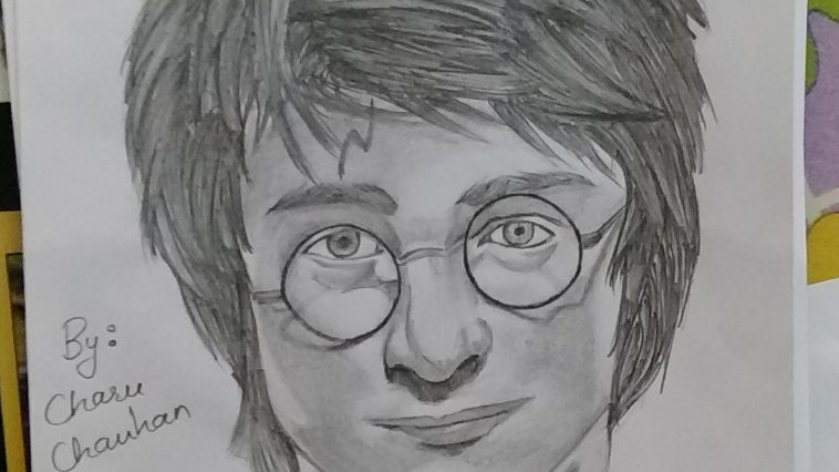 Harry potters pencil sketches