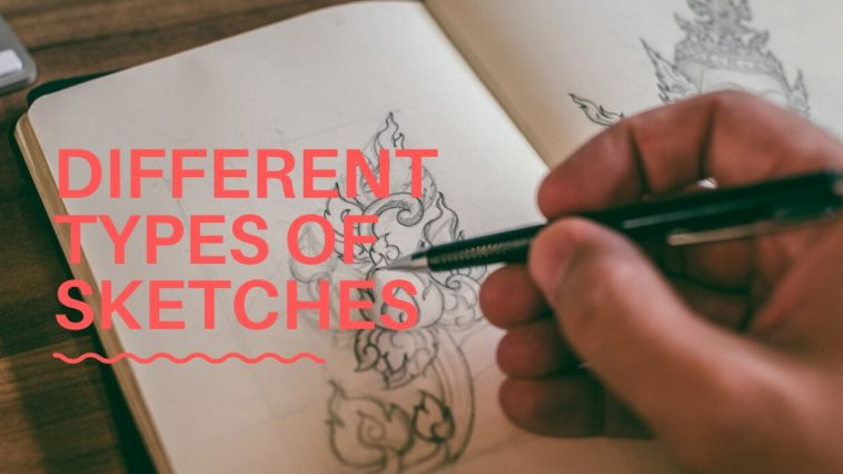 types of pencil sketches